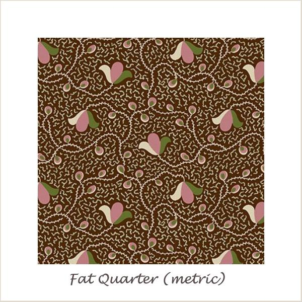 The Star of Bethleham 26502 Vines Fat Quarter