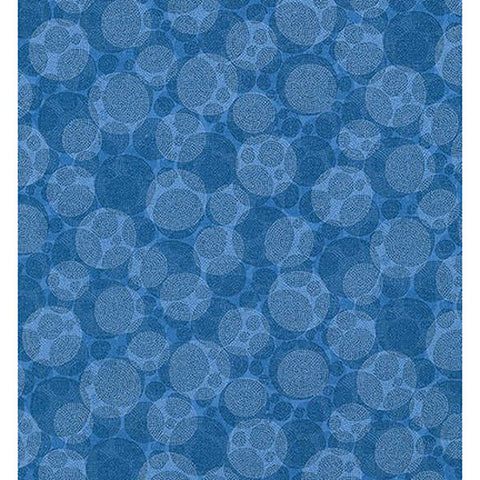 Texture Spectrum 15823-4 Blue Textured Bubbles