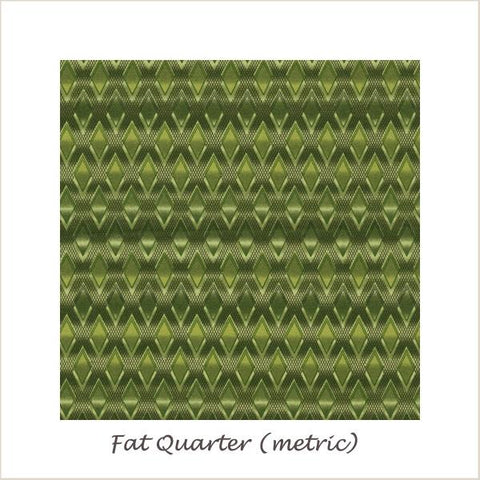 Texture Spectrum 15824-47 Grass Textured Diamonds Fat Quarter
