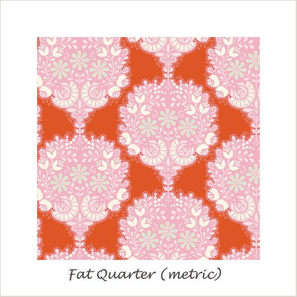 Tilda Harvest Flower Tree Ginger Fat Quarter