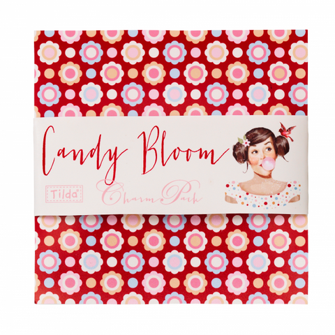 Tilda Candy Bloom Charm Pack