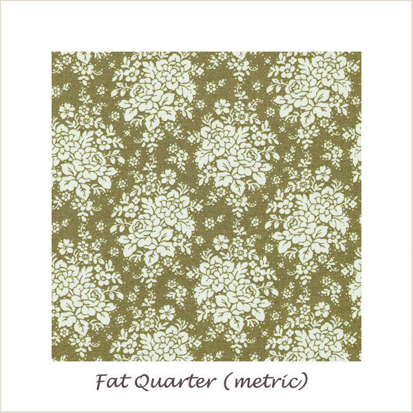 Tilda Pardon My Garden Fat Quarter (metric) Audrey Green
