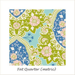 Tilda SunKiss Charlotte Blue Fat Quarter