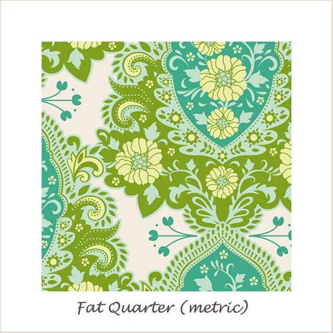 Tilda SunKiss Charlotte Teal Fat Quarter