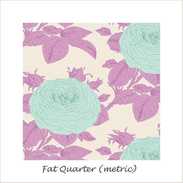 Tilda SunKiss Grandma Rose Lilac Fat Quarter