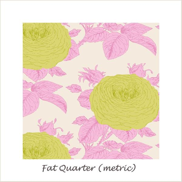 Tilda SunKiss Grandma Rose Pink Fat Quarter