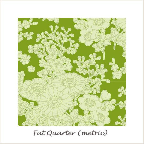 Tilda SunKiss Imogen Green Fat Quarter