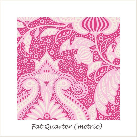 Tilda SunKiss Ocean Flower Pink Fat Quarter
