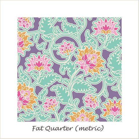 Tilda SunKiss Suraj Lilac Fat Quarter