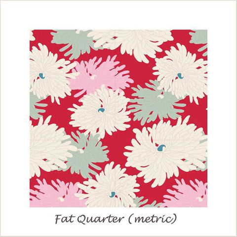 Tilda Cottage Minnie Red Fat Quarter