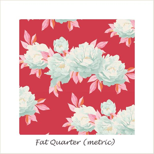 Tilda Cottage Minerva Red Fat Quarter