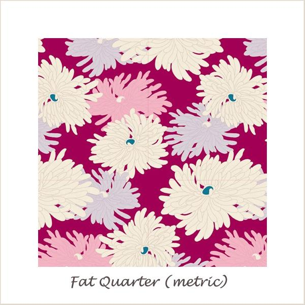 Tilda Cottage Minnie Plum Fat Quarter
