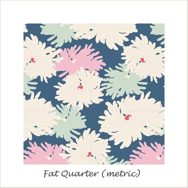 Tilda Cottage Minnie Blue Fat Quarter