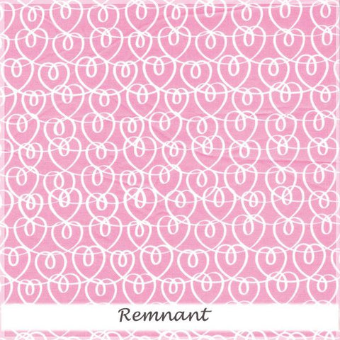Tiny Dancer  Heart Ribbon Pink