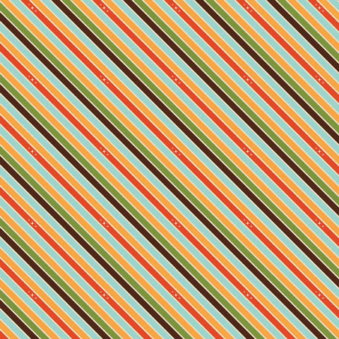 Unicorns & Rainbows  Unicorn Stripe Orange