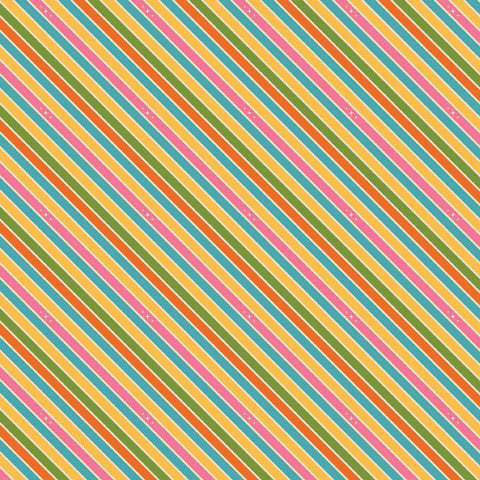 Unicorns & Rainbows  Unicorn Stripe Pink