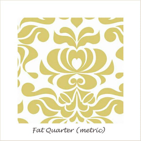 Valencia Damask Yellow FQ