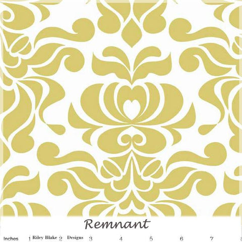 Valencia Damask Yellow