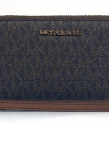 Michael Kors Jet Set Lay Flat Phone Wallet - Brown