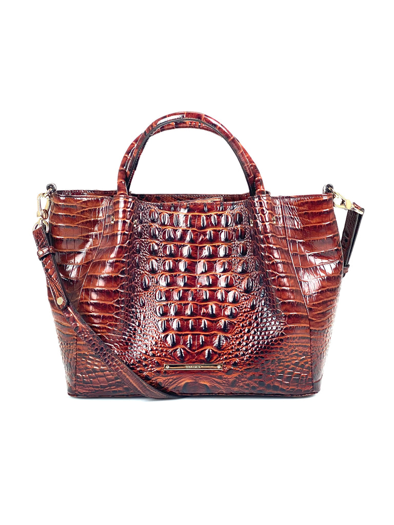 Brahmin Leather Melbourne Satchel
