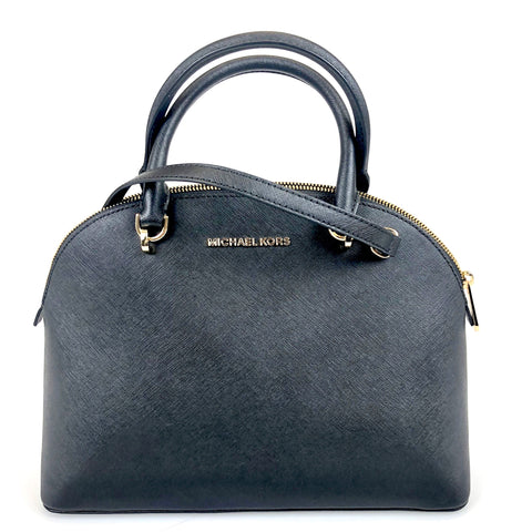 Michael Kors Emmy Dome Satchel Black