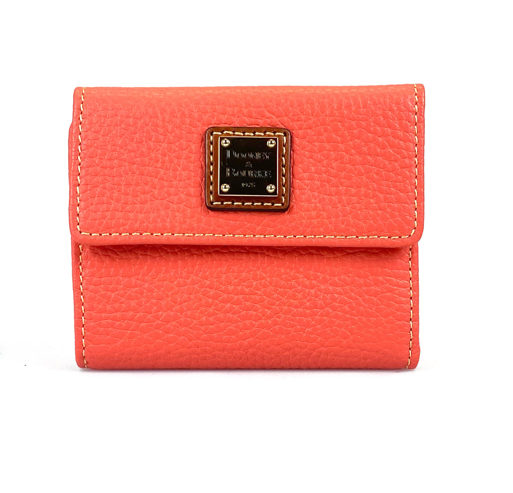 Dooney & Bourke Flap Wallet - Coral