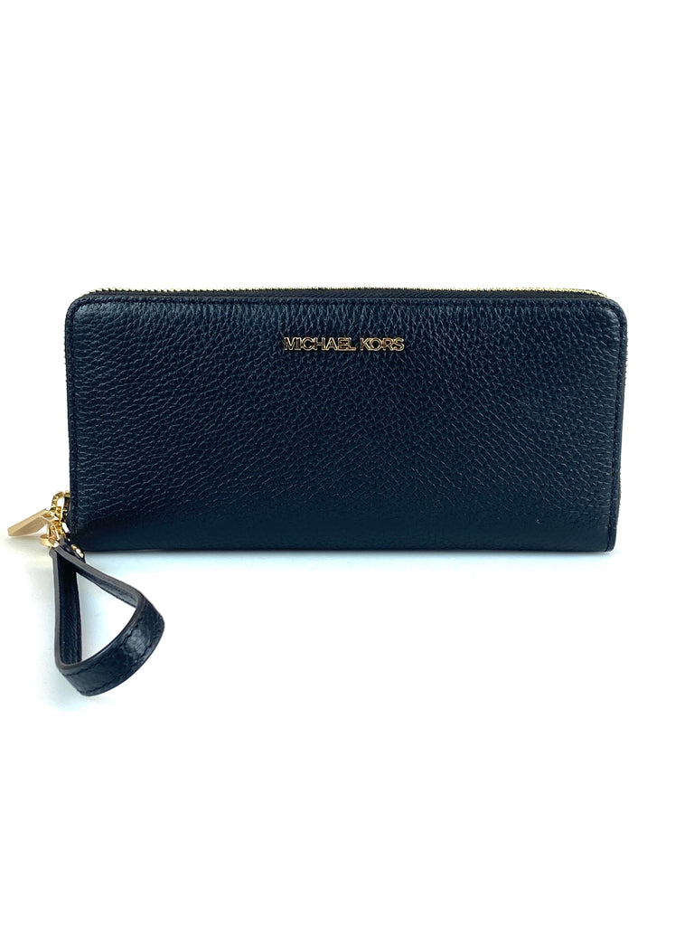 MICHAEL KORS JET SET BLACK WALLET