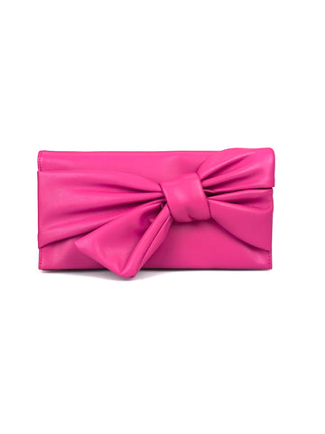 Sale Bowah Clutch Fuschia