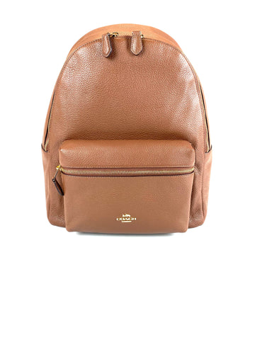 Coach Charlie Backpack Dark Brown