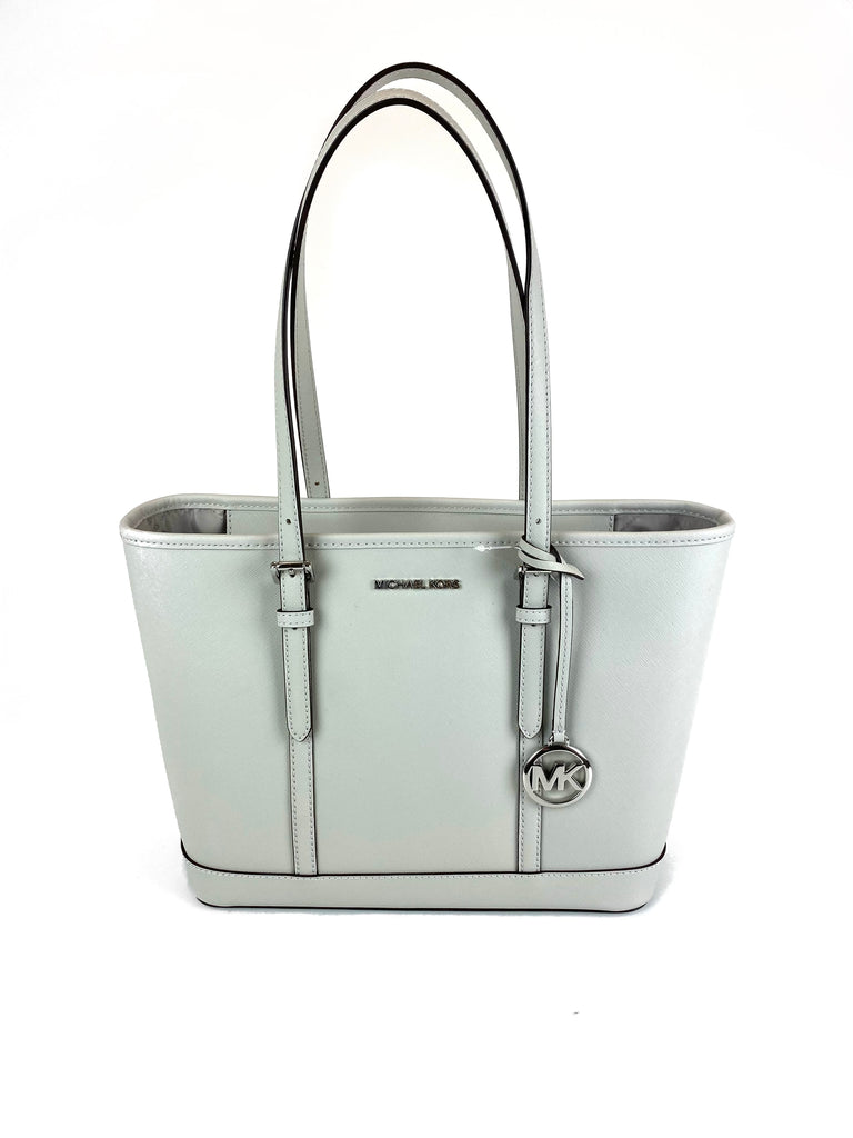 Michael Kors Jet Set Travel Shoulder Tote Grey