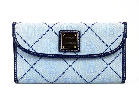 Dooney & Bourke Continental Clutch - Dark Blue