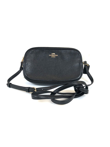Coach Pebble Crossbody Clutch