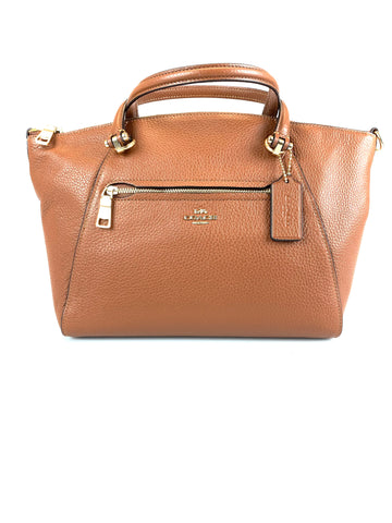 Coach Prairie Satchel Brown