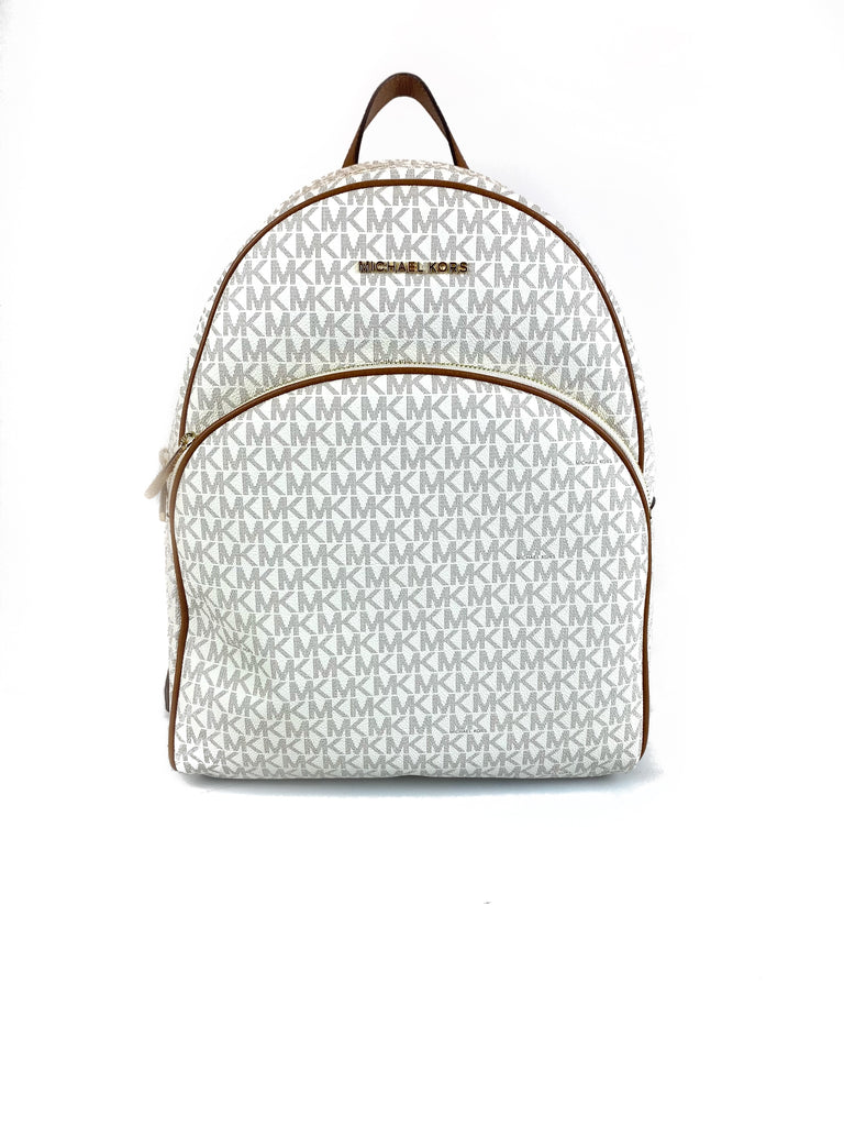 MICHAEL KORS ABBEY BACKPACK VANILLA