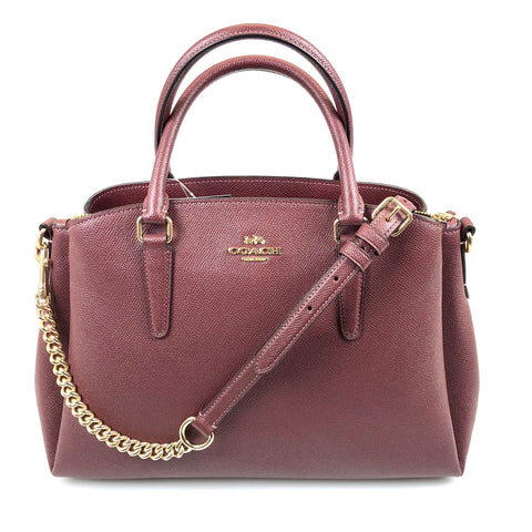 Coach CrossGrain Sage Carryall Satchel