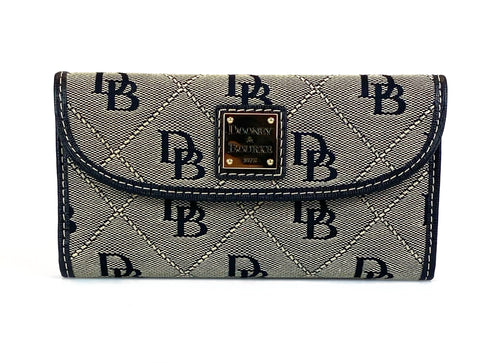 Dooney & Bourke Continental Clutch - Ash