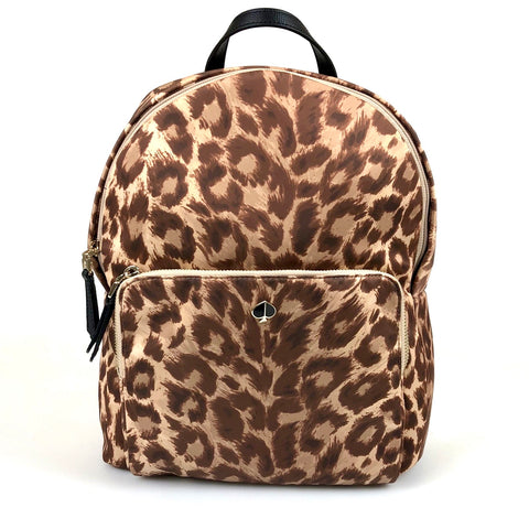 Kate Spade Taylor Leopard Backpack