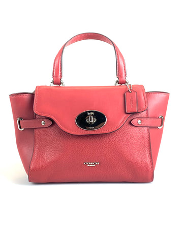 Coach Blake Satchel Dusty Rose