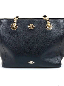 Coach Turnlock 27 Tote