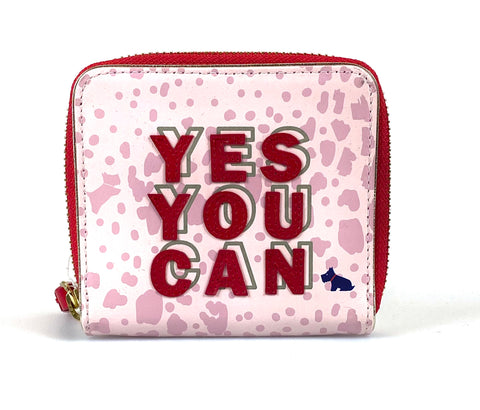 Sale Radley Motivational Mini Wallet - Pastel Pink