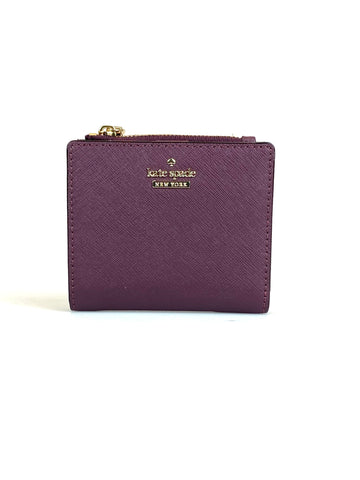 Kate Spade Mini Wallet Adalyn Deep Plum