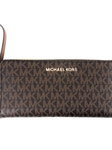 Michael Kors Jet Set Travel LG Continental Wallet Brown