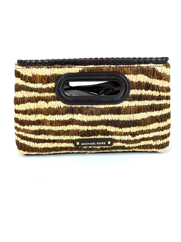 SALE Michael Kors Rosalie Large Clutch