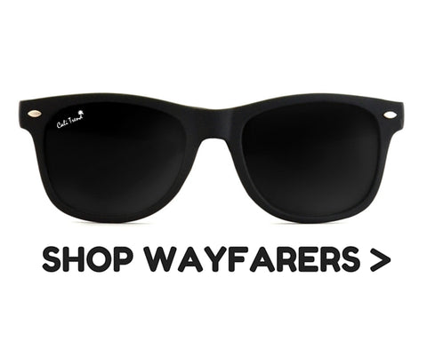 Wayfarer Frame Shaped Sunglasses | Cali Trend