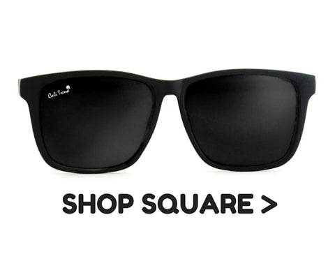 Square Frame Shaped Sunglasses | Cali Trend