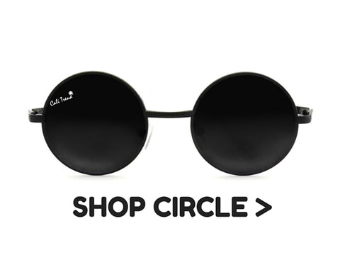 Circle Frame Shaped Sunglasses | Cali Trend