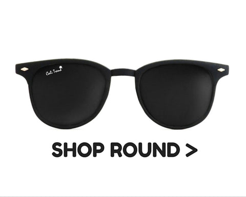 Round Frame Shaped Sunglasses | Cali Trend