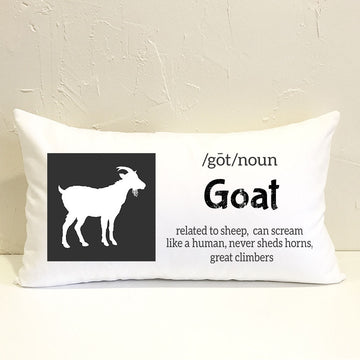Farm Goat Pillow