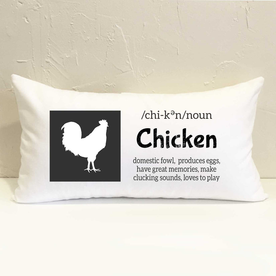 Farm Chicken Pillow