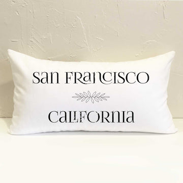 City State #1 Pillow